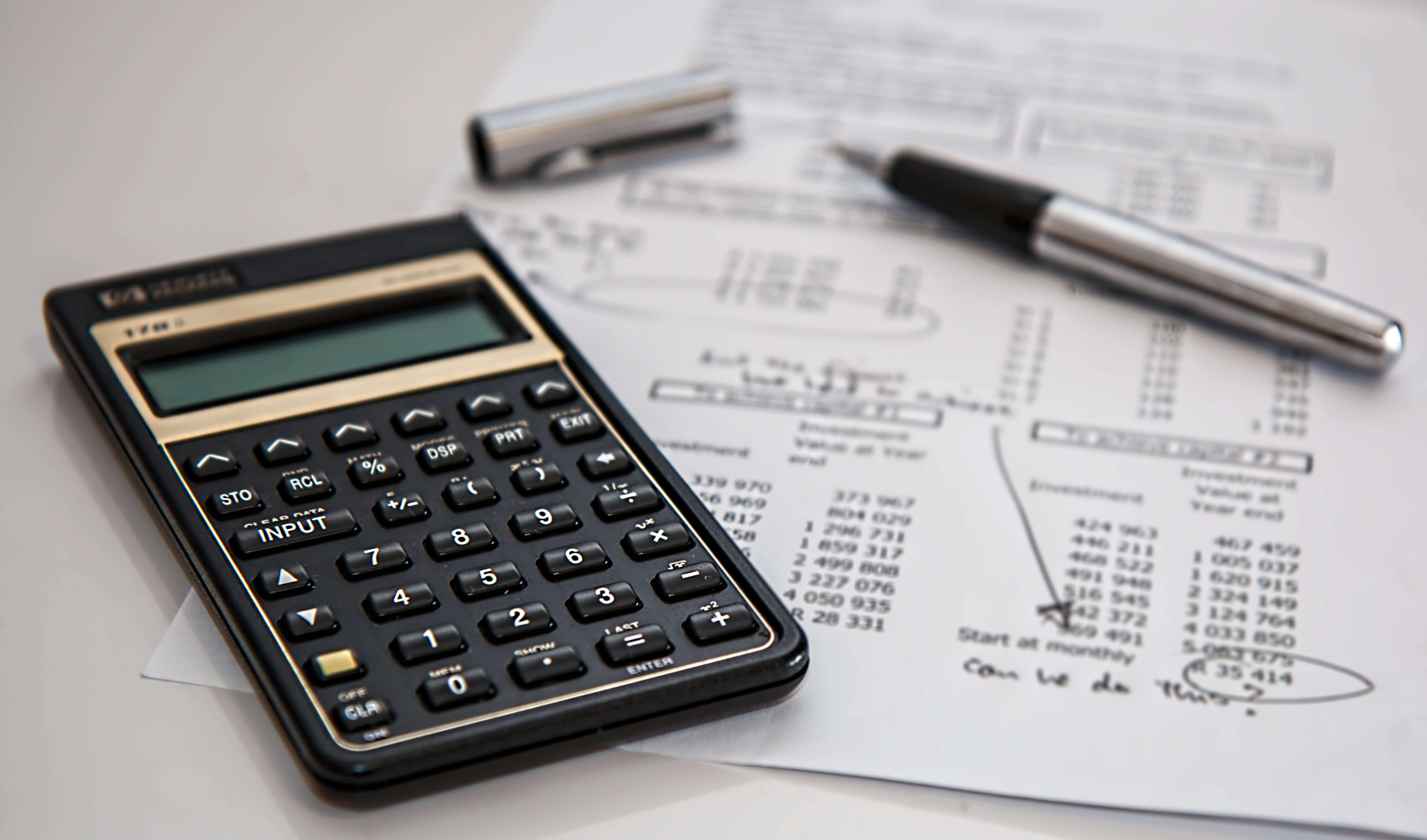 rekenmachine met berekeningen