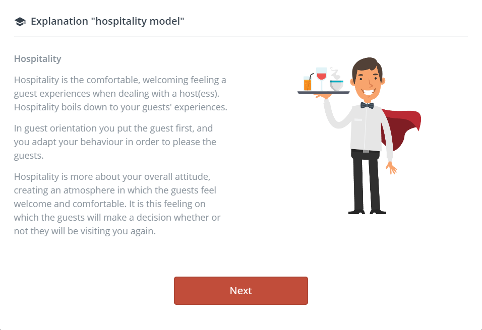 JAM! Academy hospitality training