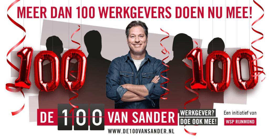 100 van sander inclusief werkgeverschap